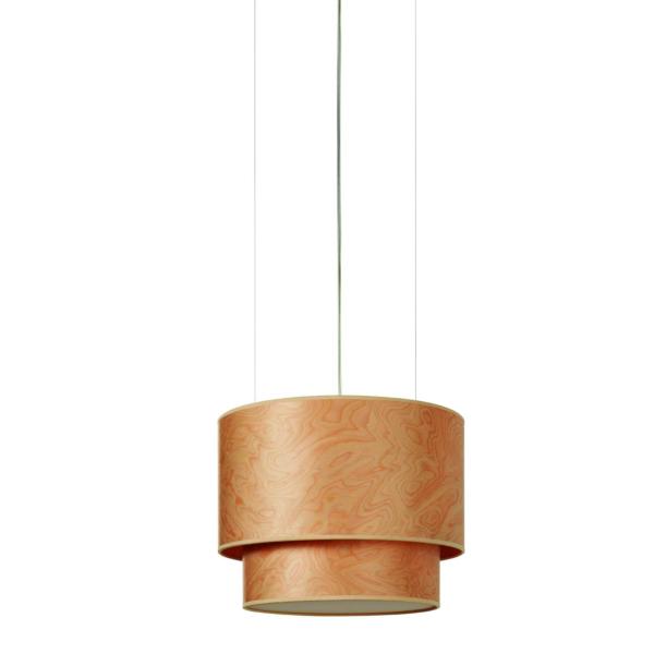 Luminaria en suspensión Aro Doble fabricada por El Torrent