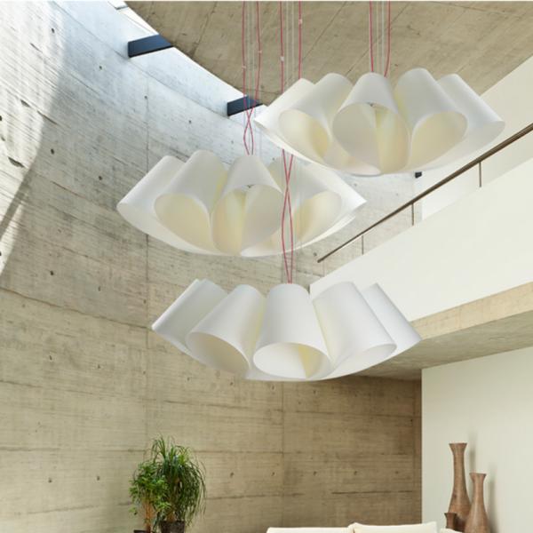 Luminaria decorativa Fló Pergacol fabricada por El Torrent