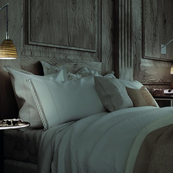 Citric luminaria en suspensión en dormitorio