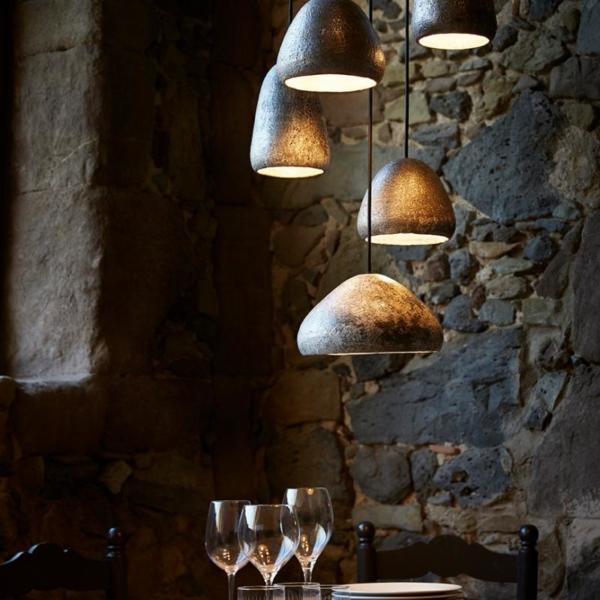 luminaria Dento en composición fabricada por El Torrent