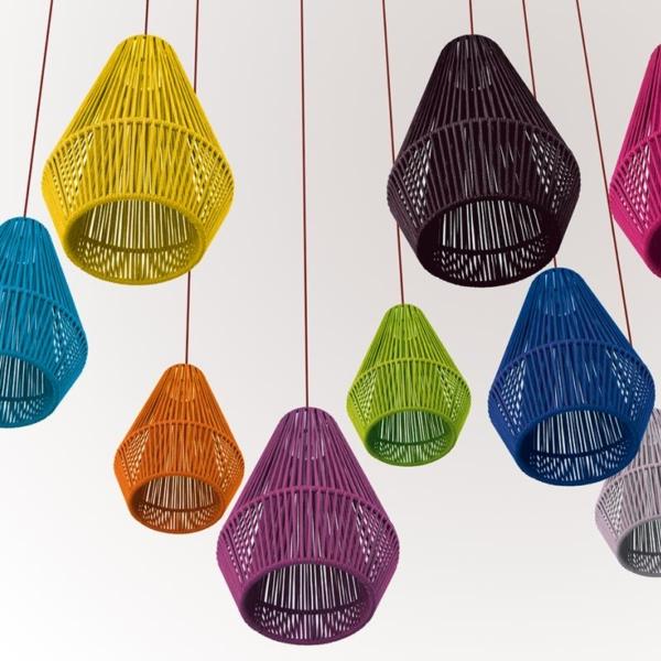 Luminarias composición Koord colores