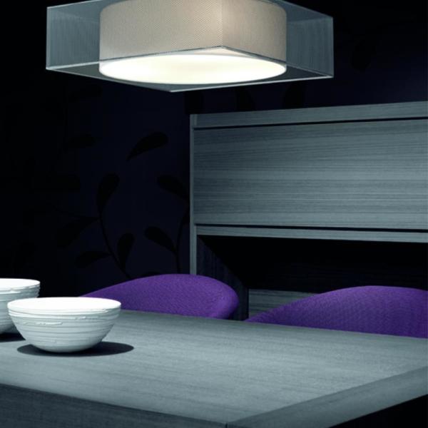 Luminaria Tub composición en casa particular