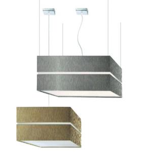 Luminaria en suspensión decorativa Square para interior fabricada por El Torrent