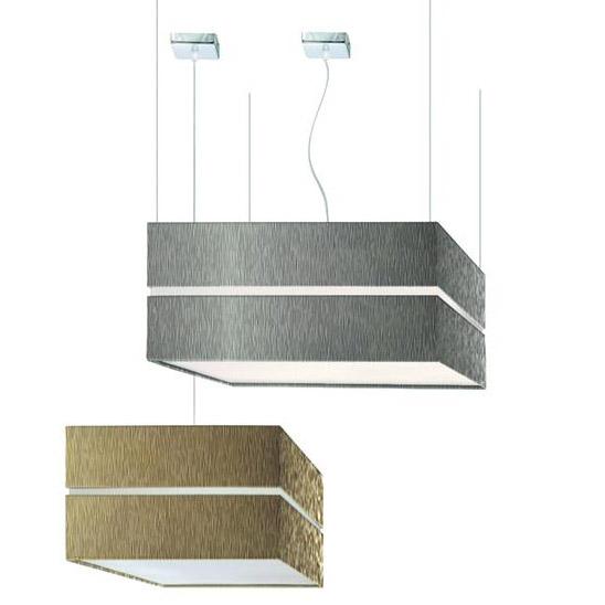 LLuminaria en suspensión decorativa Square para interior y exterior