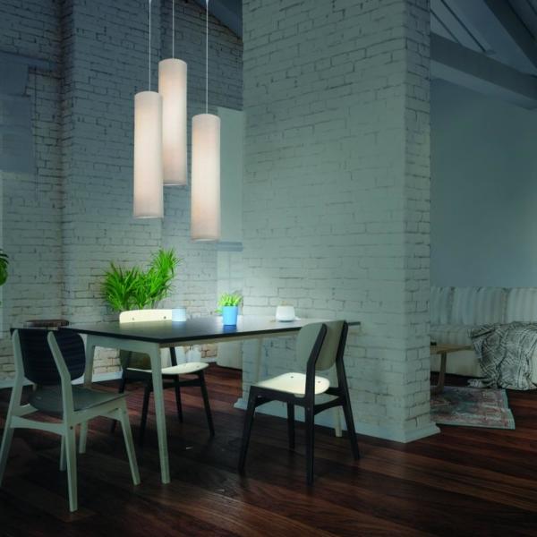 Luminaria Decorativa Tub fabricada por El Torrent en salón