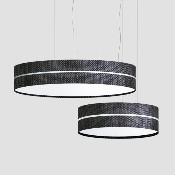 Aro 2x lámpara de suspensión fabricada por El Torrent