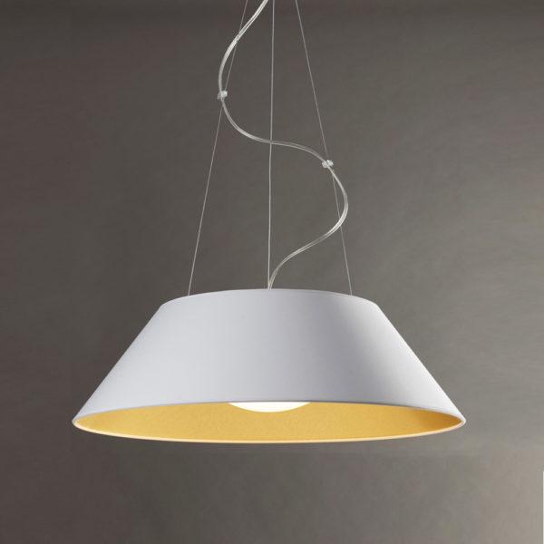 Sonora luminaria de suspensión fabricada por El Torrent