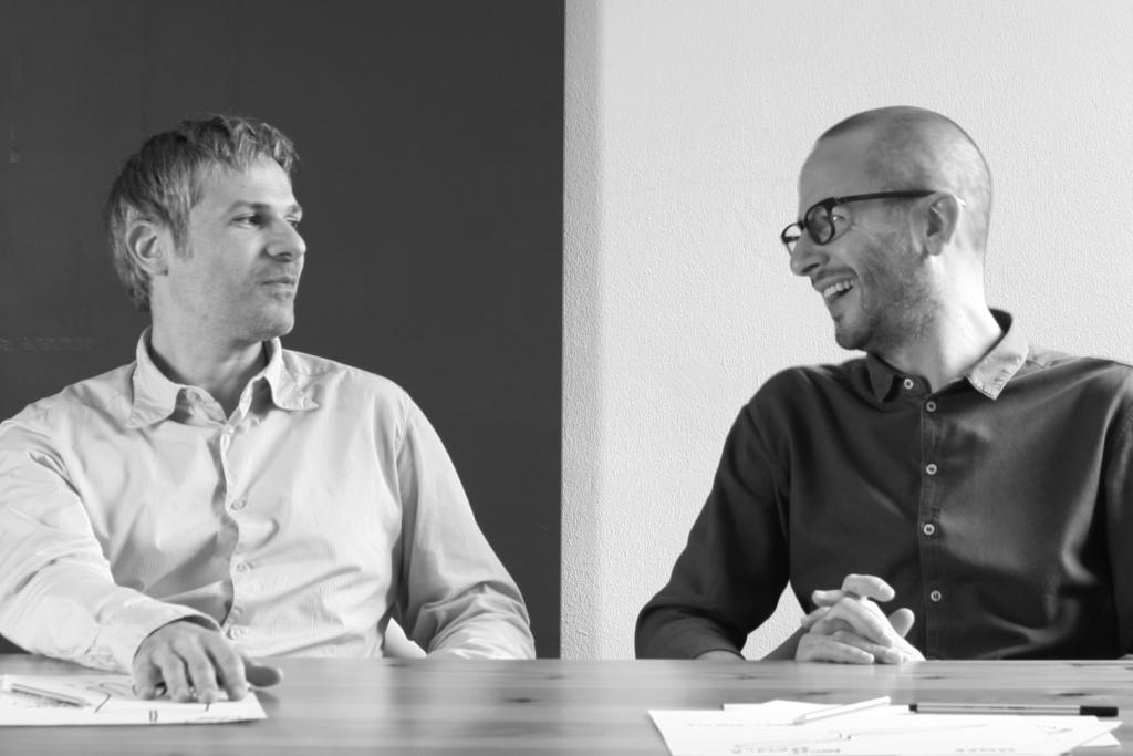 ellos Francesc Crous y Alessandro Colagero, de Crous Calogero Design Studio