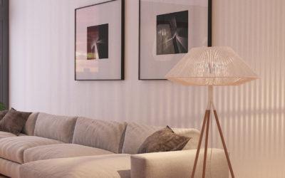Cuatro detalles para iluminar mejor nuestro salón.