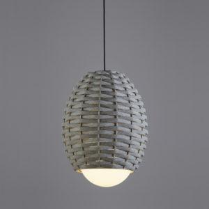 Luminaria decorativa en suspensión Cuca fabricada por El Torrent