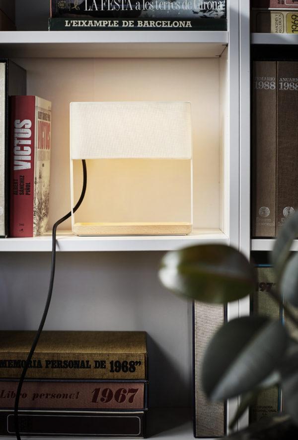 Table lamp metal structure made El Torrent