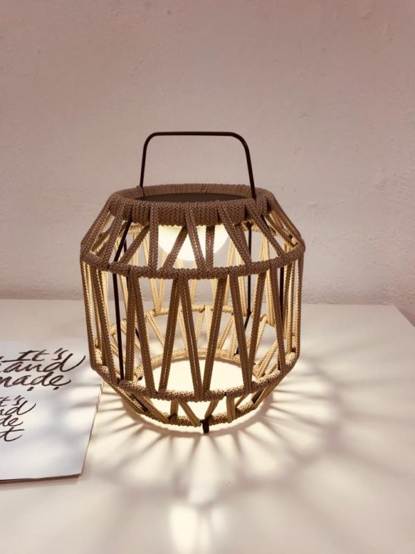 Luminaria DEcorativa Sobremesa Bauma fabicada por El Torrent